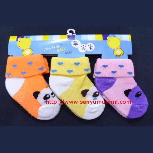 kaos kaki bayi motif panda