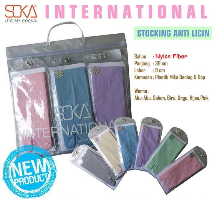 soka international anti licin-stoking