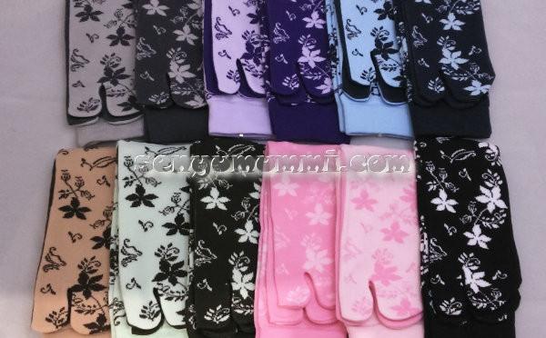 Kaos Kaki Soka Essentials Jasmine,model melati yang lembut