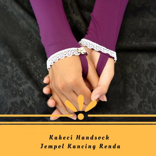 handsock kancing renda