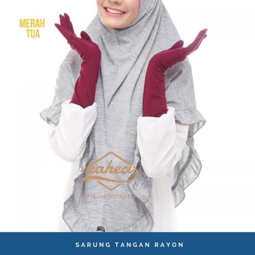 sarung tangan akhwat muslimah