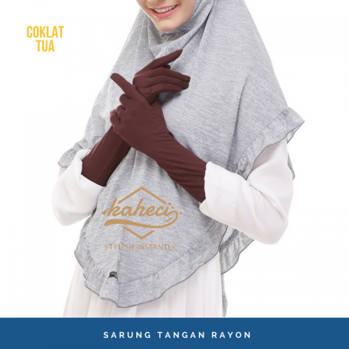 Sarung tangan muslimah akhwat