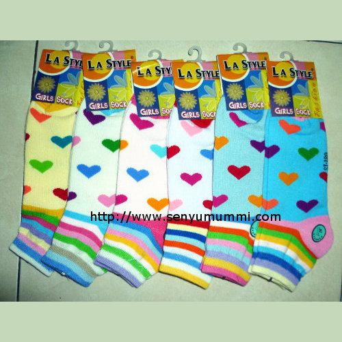 kaos kaki girls socks merek LA Style