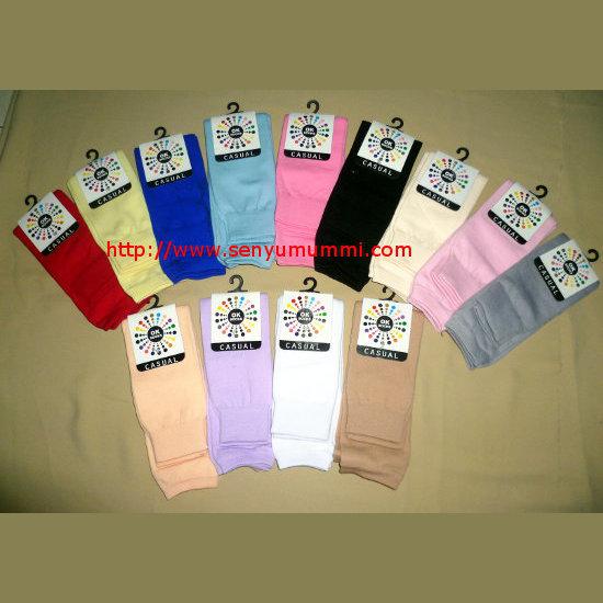 kaos kaki casual jempol pendek warna warni