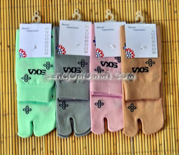 kaos kaki Soka Eco Socks Bunga